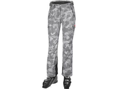 Helly Hansen W Switch Cargo 2.0 Pant, quiet shade camo - Skihose