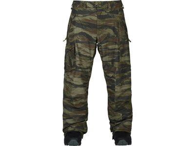 Burton Insulated Cover Pant, olive green worn tiger - Snowboardhose