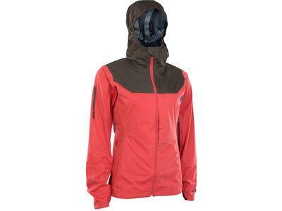 ION 3 Layer Jacket Scrub AMP Wms, pink isback - Radjacke