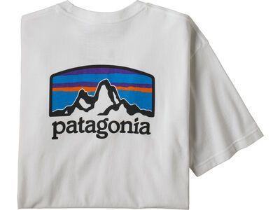 Patagonia Men's Fitz Roy Horizons Responsibili-Tee, white - T-Shirt
