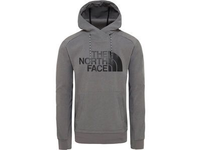 The North Face Mens Tekno Logo Hoodie, grey heather - Hoody