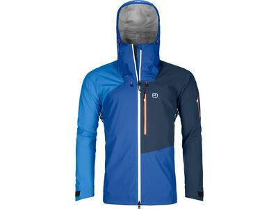 Ortovox 3L Merino Naked Sheep Ortler Jacket M, just blue - Skijacke