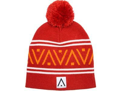 WearColour Knit Beanie, falu red - Mütze